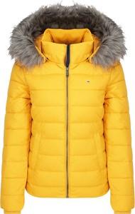Żółta kurtka Tommy Jeans krótka