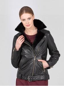 Czarna kurtka Ochnik z bawełny
