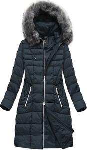 Granatowa kurtka Libland w stylu casual