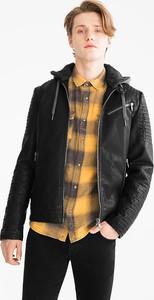 Czarna kurtka CLOCKHOUSE w stylu casual