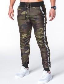 Spodnie sportowe ombre clothing z dresówki