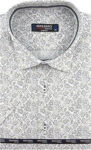 Koszula Massaro z krótkim rękawem z tkaniny