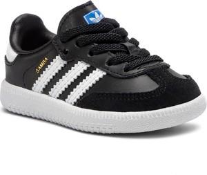 Czarne buty sportowe dziecięce Adidas