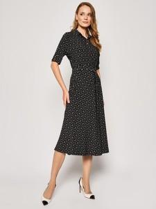 Sukienka Ralph Lauren koszulowa z krótkim rękawem