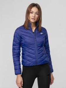 Niebieska kurtka 4F w stylu casual krótka
