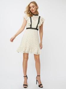 Sukienka Little Mistress mini z krótkim rękawem