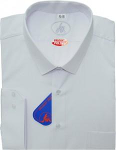 Koszula Avi Zgierz z bawełny z włoskim kołnierzykiem