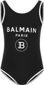 Czarny strój kąpielowy Balmain