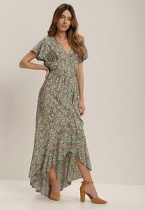 Sukienka Renee maxi z dekoltem w kształcie litery v w stylu boho