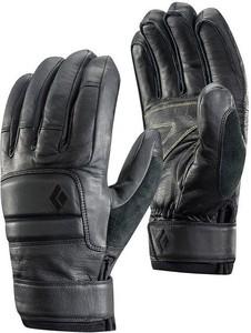 Czarne rękawiczki Black Diamond w sportowym stylu