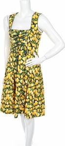Sukienka Alpin De Luxe mini na ramiączkach rozkloszowana