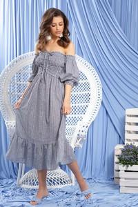 Sukienka Fobya z długim rękawem hiszpanka w stylu boho