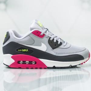 Szare buty sportowe bez wzorów Nike, kolekcja lato 2019