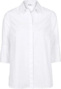 Koszula bonprix BODYFLIRT w stylu casual z długim rękawem z kołnierzykiem