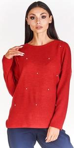 Czerwona bluzka BEMAR w stylu casual