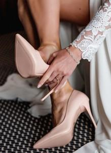 Różowe szpilki DeeZee na szpilce w stylu klasycznym