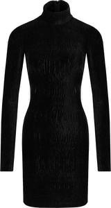 Sukienka Guess Jeans z długim rękawem w stylu casual midi