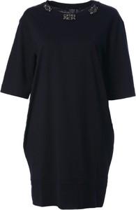 Czarna sukienka MaxMara mini w stylu casual
