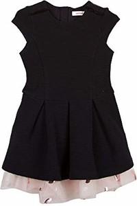 Czarna sukienka dziewczęca Catimini