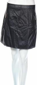 Czarna spódnica Morgan w stylu casual ze skóry