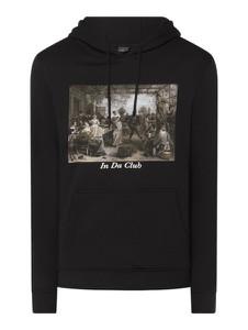 Czarna bluza Mister Tee z bawełny w młodzieżowym stylu z nadrukiem
