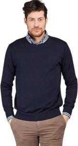 Niebieski sweter Paul & Shark w stylu casual z wełny