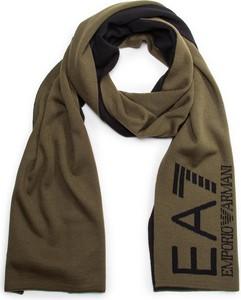 Brązowy szalik EA7 Emporio Armani w stylu casual