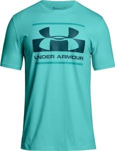 Niebieski t-shirt Under Armour z bawełny
