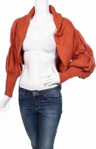 Pomarańczowy sweter Arthur Galan w stylu casual
