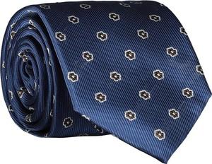 Niebieski krawat Lavard