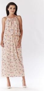 Różowa sukienka Awama