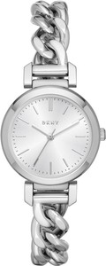 Zegarek DKNY - Ellington NY2664 Silver/Silver