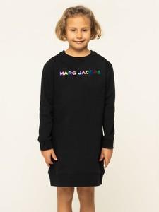 Czarna sukienka dziewczęca Little Marc Jacobs