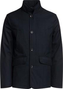 Granatowa kurtka Geox w stylu casual