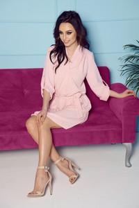 Różowa sukienka Lemoniade midi