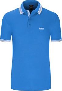 Koszulka polo Boss z bawełny z krótkim rękawem w stylu casual