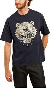 T-shirt Kenzo z nadrukiem w młodzieżowym stylu