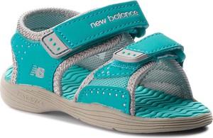Turkusowe buty dziecięce letnie New Balance