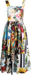 Sukienka Dolce & Gabbana maxi dla puszystych