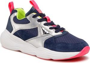 Granatowe buty sportowe dziecięce Geox sznurowane