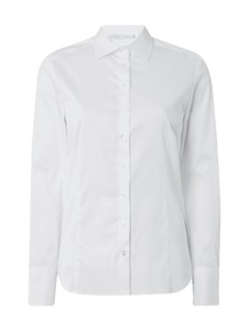 Koszula Eterna z bawełny z kołnierzykiem