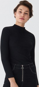 Czarna bluzka House w stylu casual