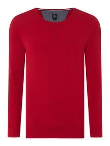 Czerwony sweter S.Oliver Red Label z bawełny