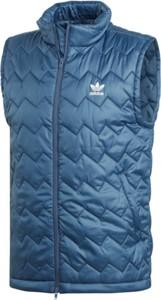 Kamizelki męskie bez wzorów Adidas, kolekcja wiosna 2019