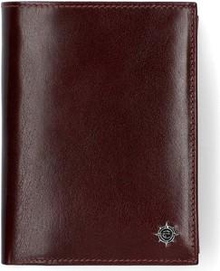 Czerwony portfel męski LANCERTO