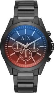 Armani Jeans Zegarek ARMANI EXCHANGE - Drexler AX2615 Black/Black