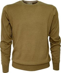 Żółty sweter Cashmere Company w stylu casual