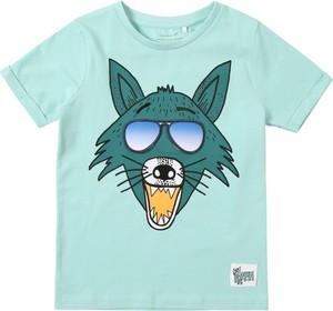 Zielona koszulka dziecięca Name it