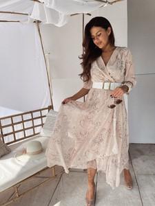 Sukienka Versada z długim rękawem