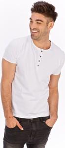 T-shirt Lanieri Fashion z bawełny z krótkim rękawem